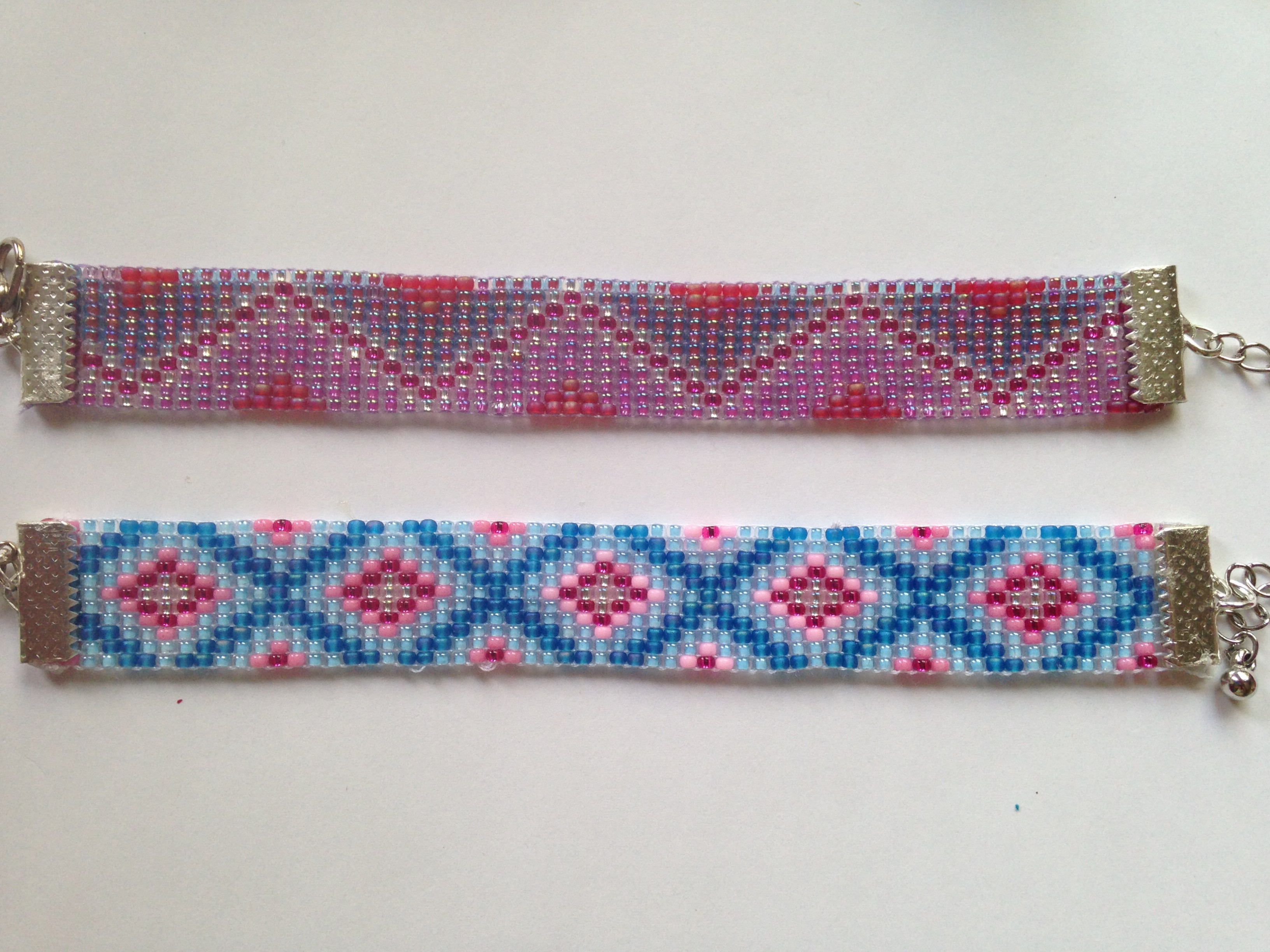 Gut bekannt bracelets en tissage de perles, coloris variés – Miliecreation- Neya VH47